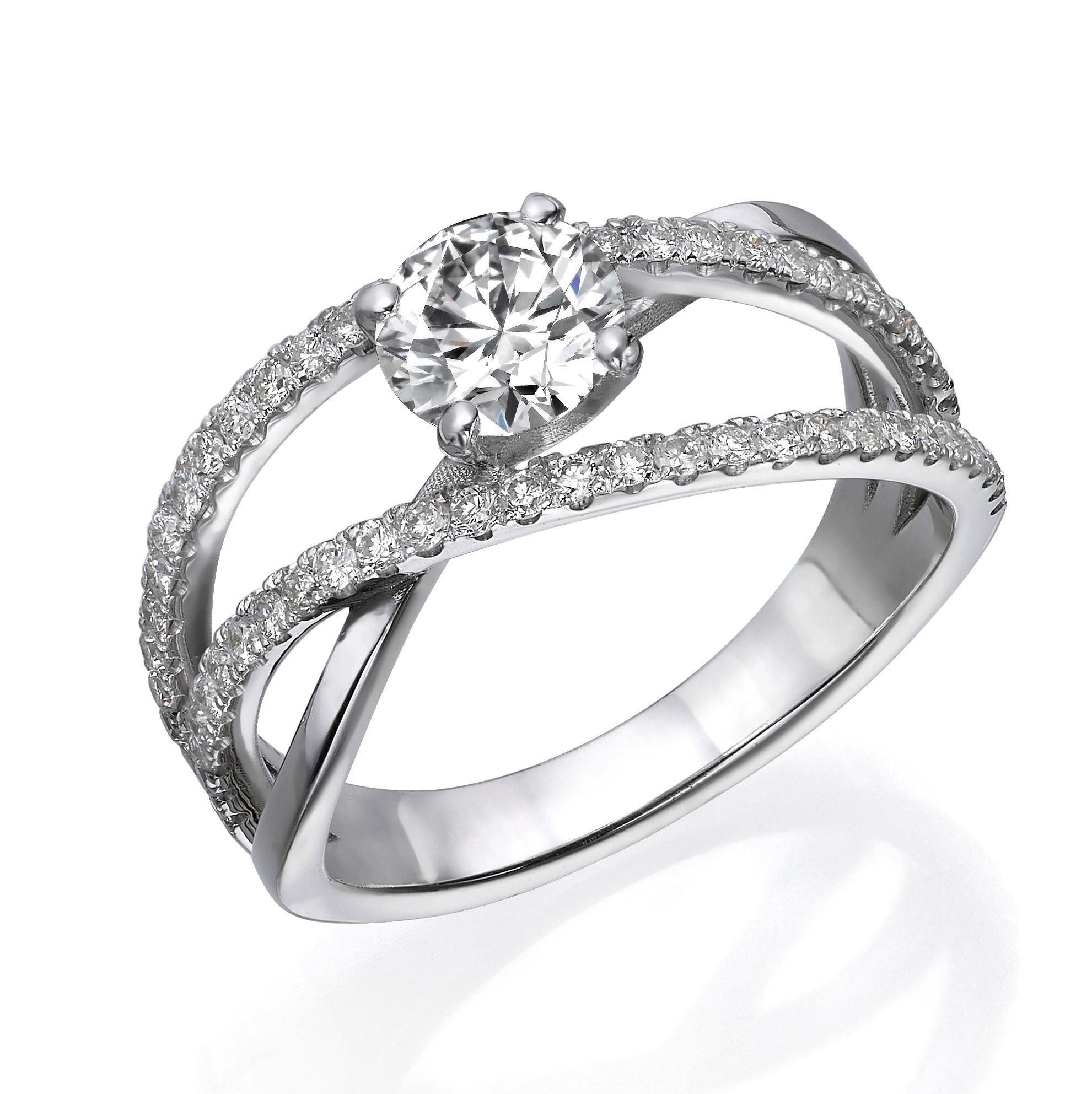 טבעת יהלומים דגם Sofia