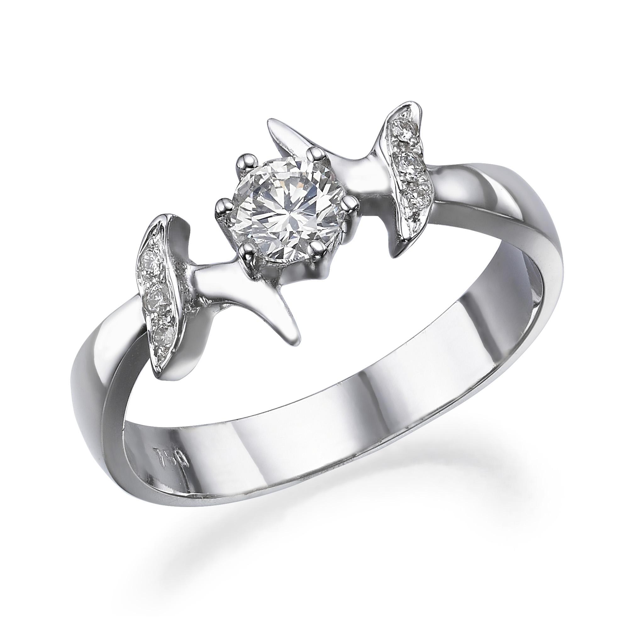 טבעת יהלומים דגם Paula ב-35% הנחה!!!