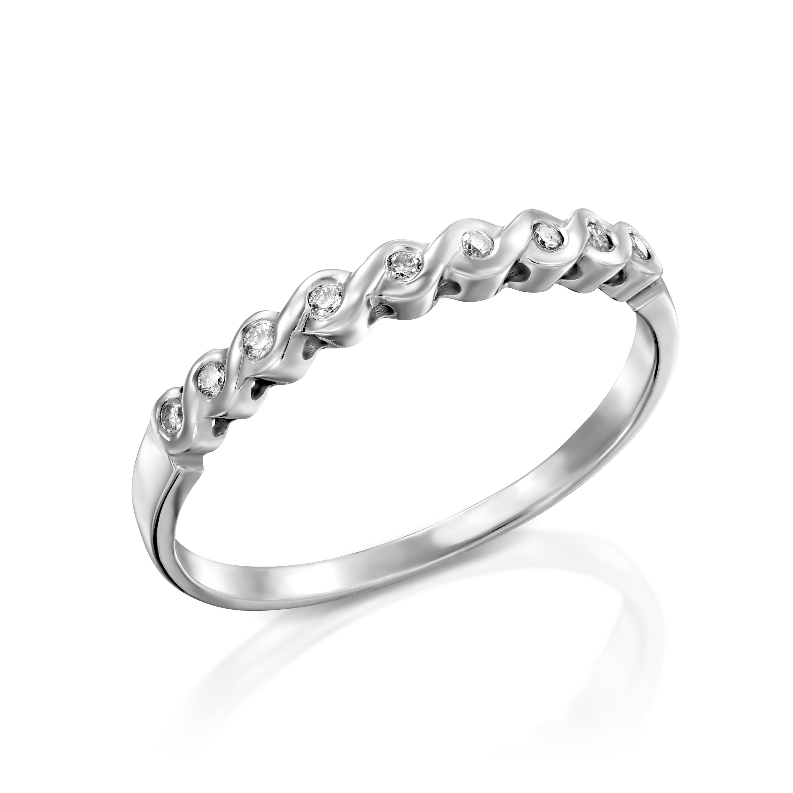 טבעת יהלומים דגם Daria ב-25% הנחה