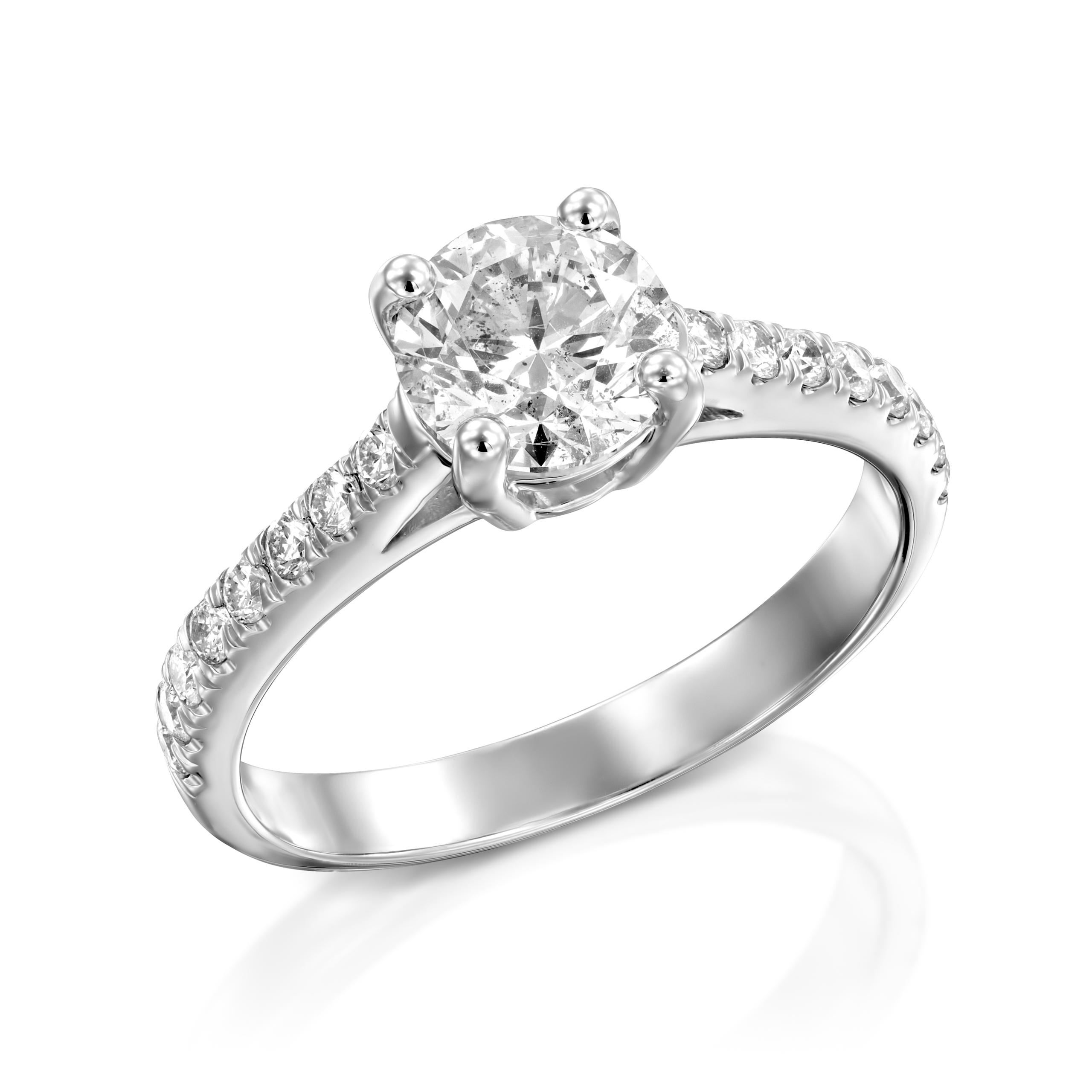 טבעת יהלומים דגם Nina ב-45% הנחה