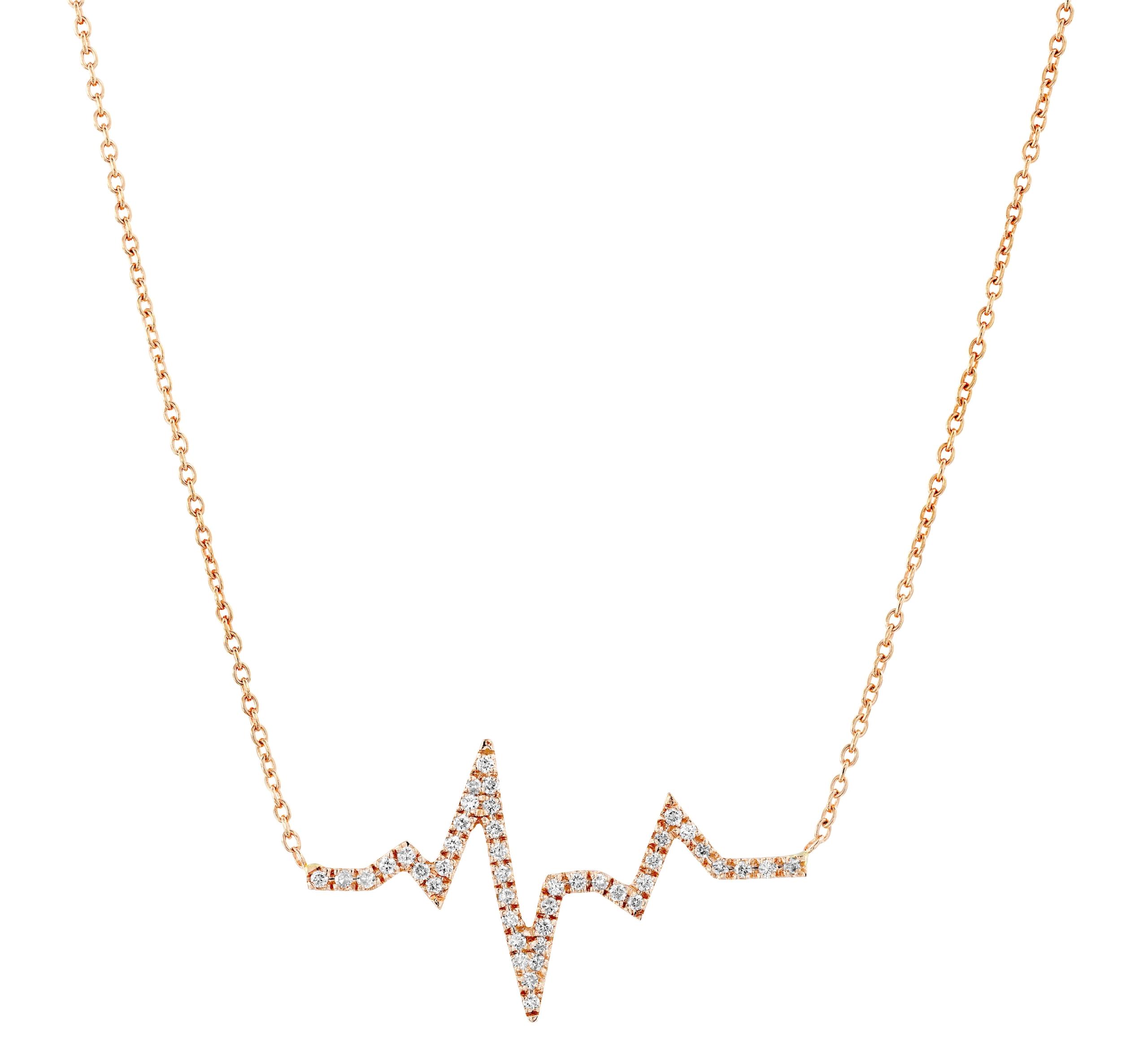 תליון יהלומים דגם Lev