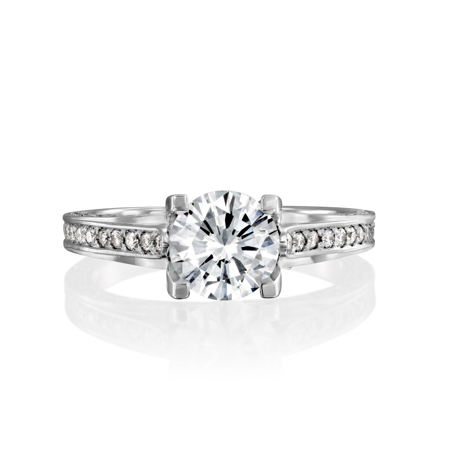 טבעת יהלומים דגם Jess