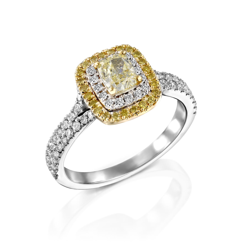 טבעת יהלומים דגם Miran