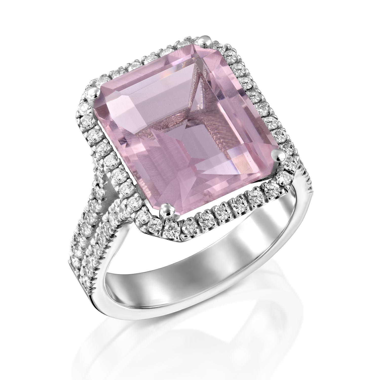 טבעת מורגנייט דגם Stassie