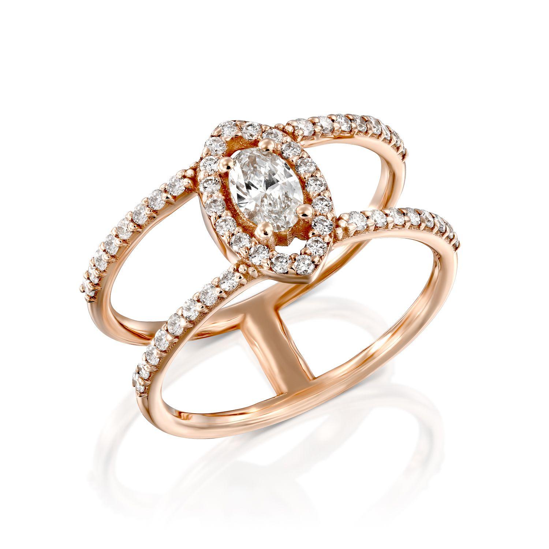 טבעת יהלומים דגם Adrian