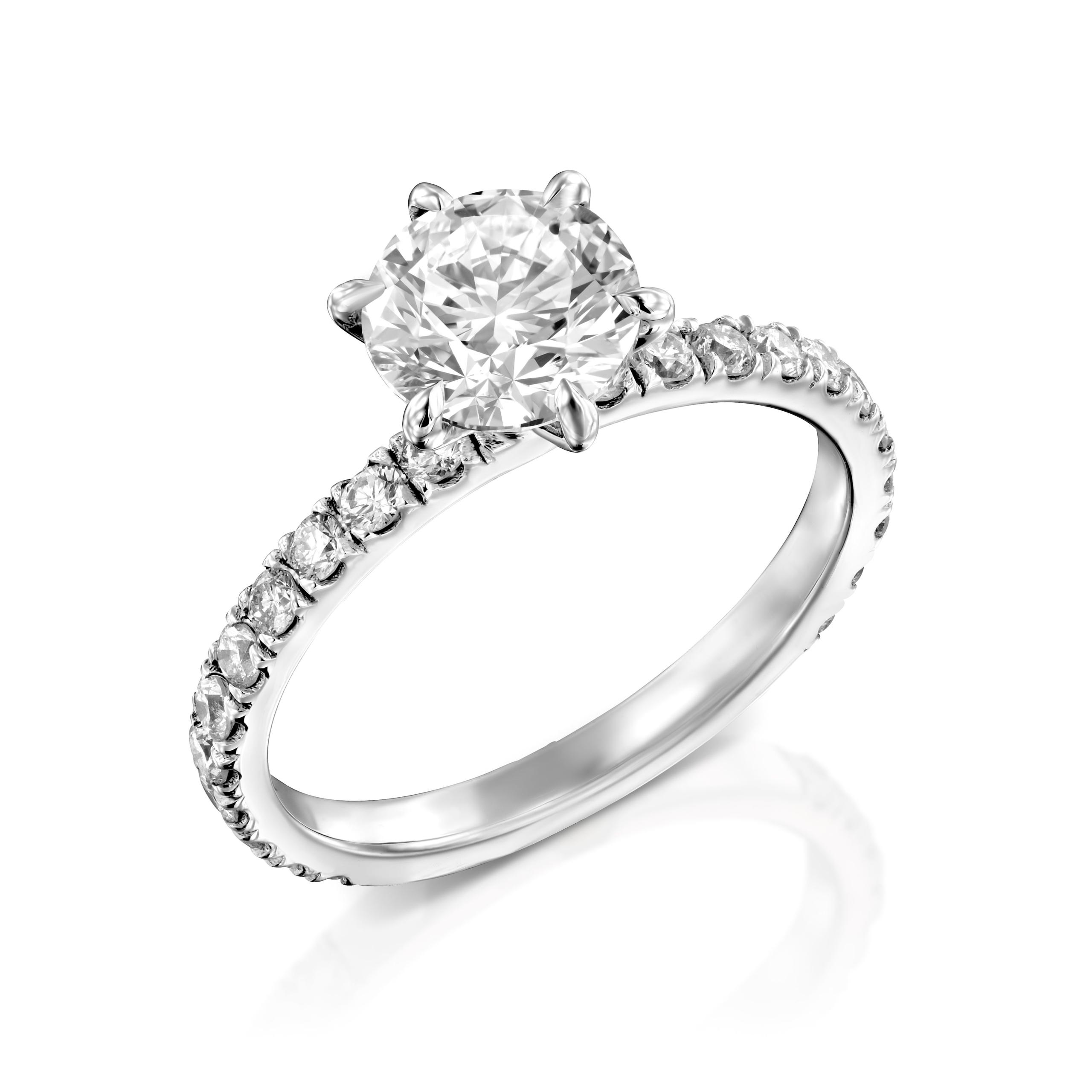 טבעת אירוסין דגם Miel
