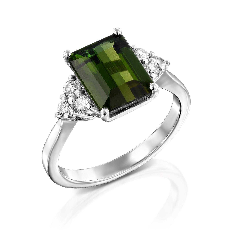 טבעת טורמלין דגם Amalya
