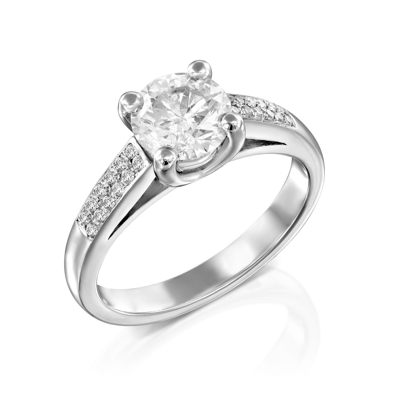 טבעת אירוסין דגם Elisha ב-35% הנחה