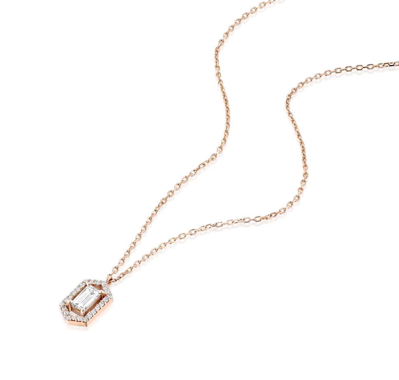 תליון יהלומים דגם Gabriella