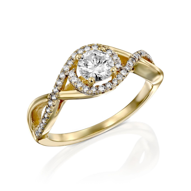 טבעת יהלומים דגם Maddie ב-30% הנחה