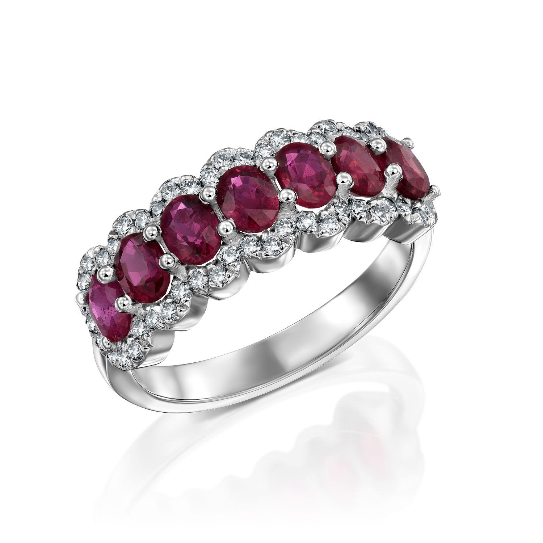 טבעת יהלומים דגם Valentina