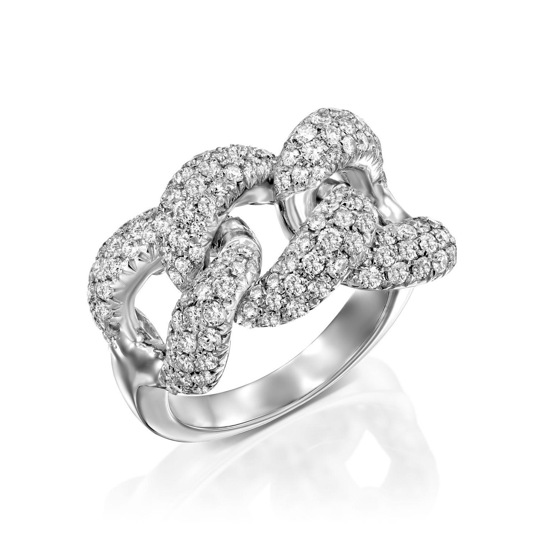 טבעת יהלומים דגם Nicola ב-38% הנחה
