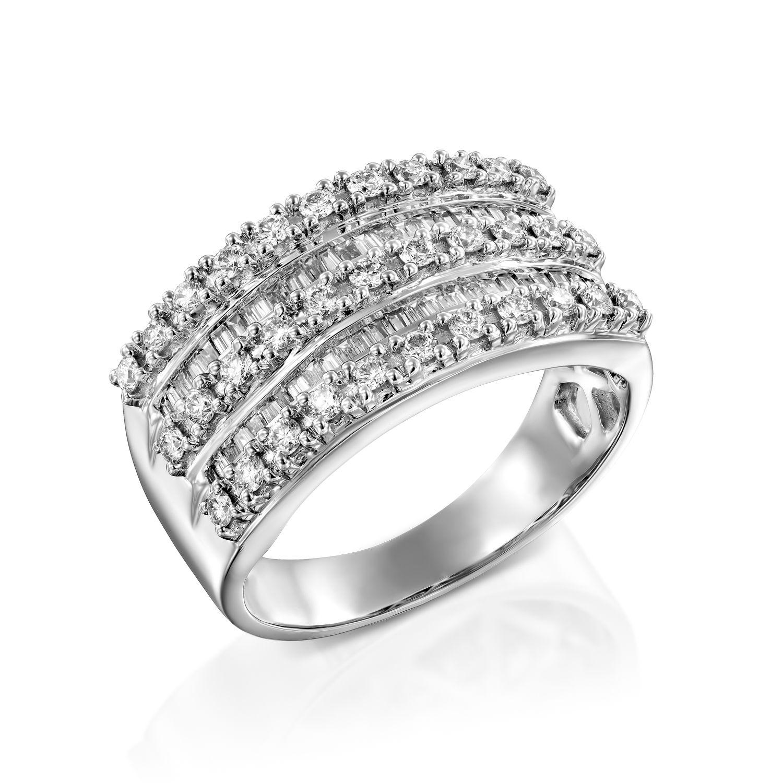 טבעת יהלומים דגם Agam